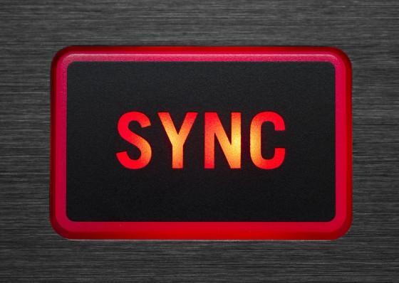 sync-buuton